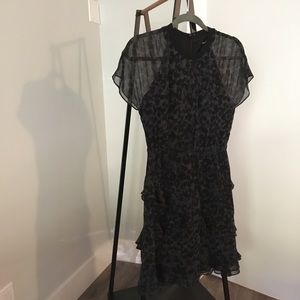 Madewell Radiant Leopard Dress